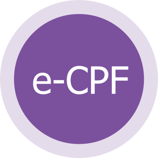 e-CPF Certificado Digital