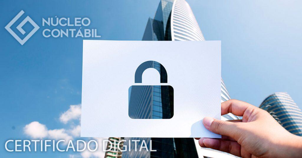 Certificado Digital - Núcleo Contábil Valinhos