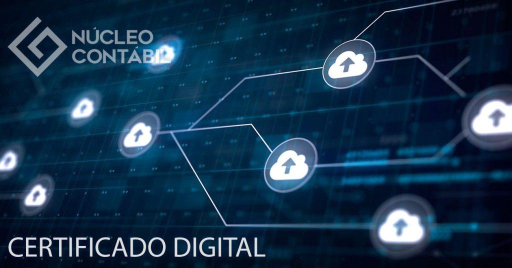 Núcleo Contábil Valinhos - Certificado Digital