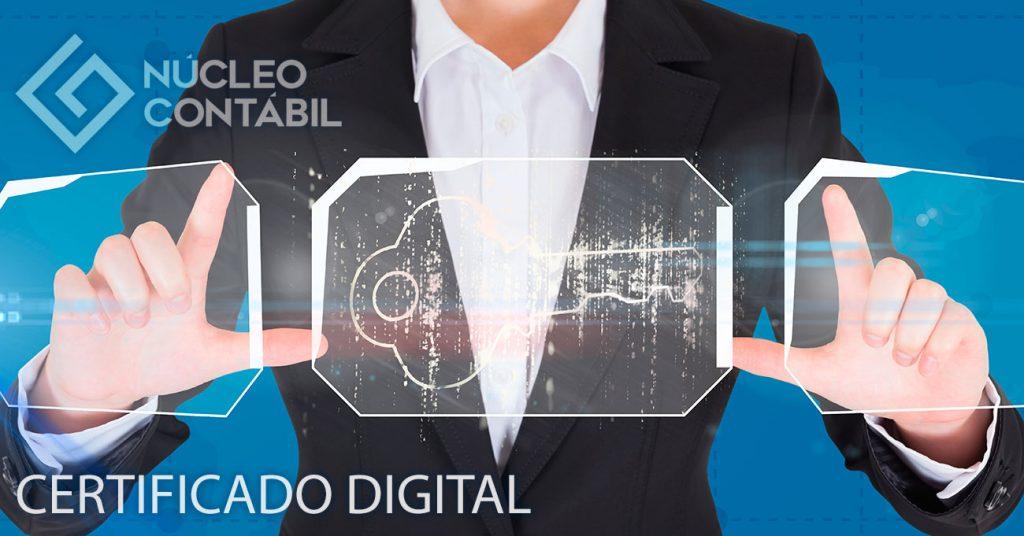 Certificado Digital Núcleo Contábil Valinhos