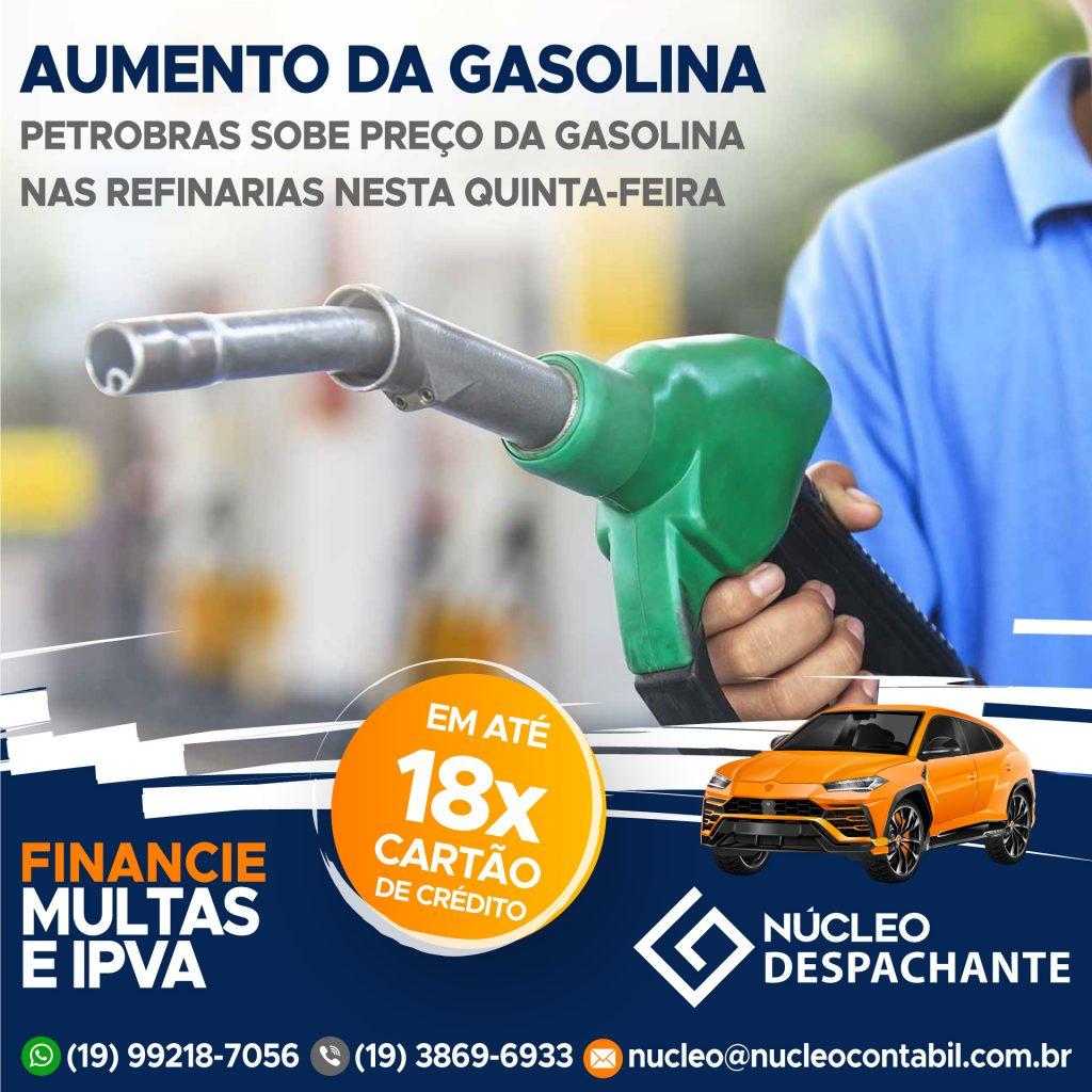 Petrobras - Preço da Gasolina